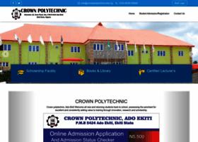 crownpolytechnic.edu.ng