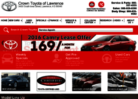 crowntoyotaoflawrence.calls.net