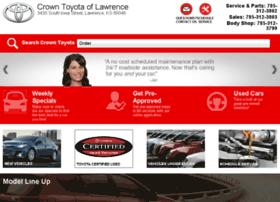 crowntoyotaoflawrence.dealereprocess.com