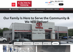 crowntoyotascion.com