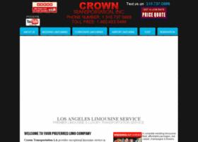 crowntransportationla.com