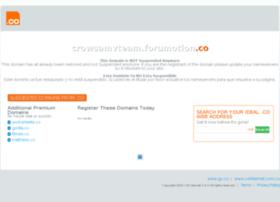 crowsamvteam.forumotion.co
