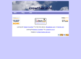 crowther.info