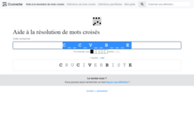cruciverbiste.neamar.fr