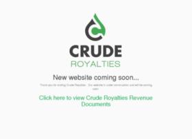 cruderoyalties.com