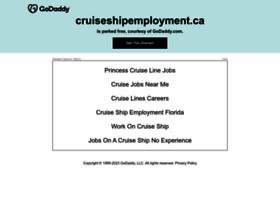 cruiseshipemployment.ca