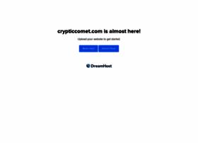 crypticcomet.com