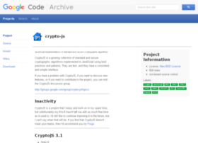 crypto-js.googlecode.com