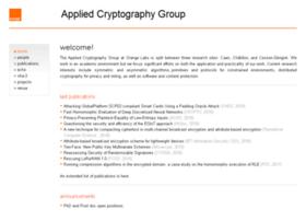 crypto.rd.francetelecom.com