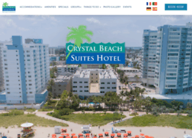 crystalbeachsuites.com