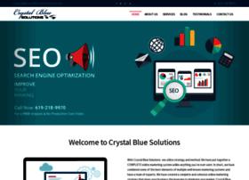 crystalbluesolutions.com