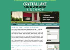 crystallakegaragedoorrepair.biz