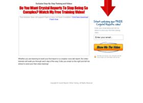 crystalreportsonlinetraining.com