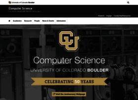 cs.colorado.edu