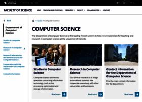 cs.helsinki.fi