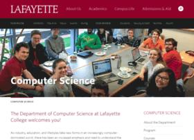 cs.lafayette.edu