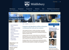 cs.middlebury.edu