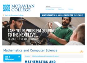 cs.moravian.edu