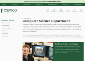 cs.oswego.edu