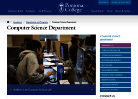 cs.pomona.edu