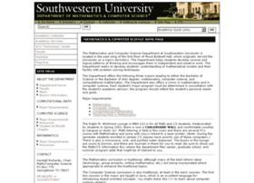 cs.southwestern.edu