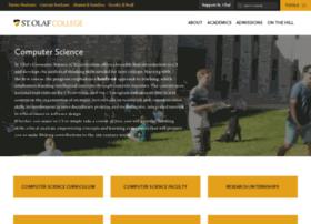 cs.stolaf.edu