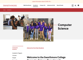 cs.swarthmore.edu