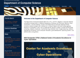 cs.utsa.edu