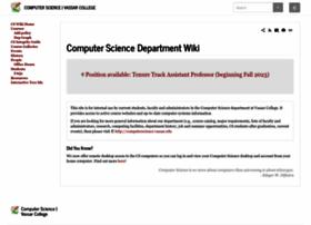 cs.vassar.edu