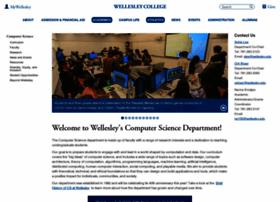 cs.wellesley.edu
