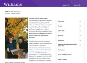 cs.williams.edu
