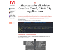 cs6shortcuts.com