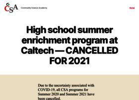 csa.caltech.edu