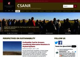 csanr.wsu.edu