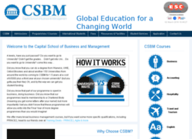 csbm.co.uk