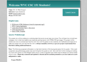 csc151.wvc.edu