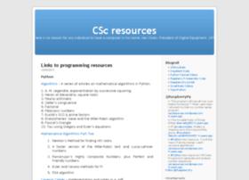 cscresources.wordpress.com
