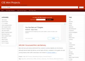 cse.mini-projects.in