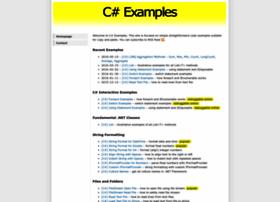 csharp-examples.net