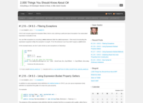csharp.2000things.com
