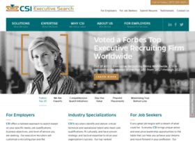csi-executivesearch.com