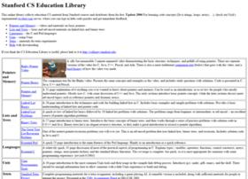 cslibrary.stanford.edu