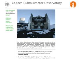 cso.caltech.edu