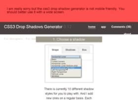 css3-drop-shadows.herokuapp.com