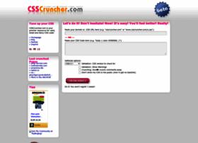 csscruncher.com