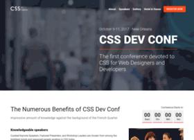 cssdevconf.com
