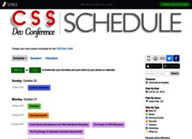 cssdevconf2013.sched.org