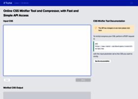 cssminifier.com