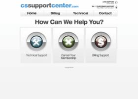 cssupportcenter.com