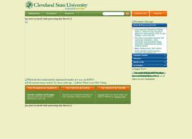 csunew.csuohio.edu
